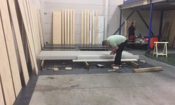 houtenframevoorbewerkingwerkplaats